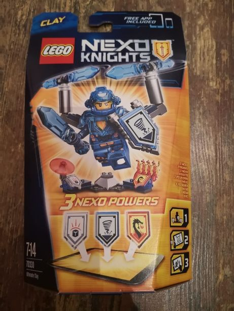 Lego Nexo Knights 70330 Clay