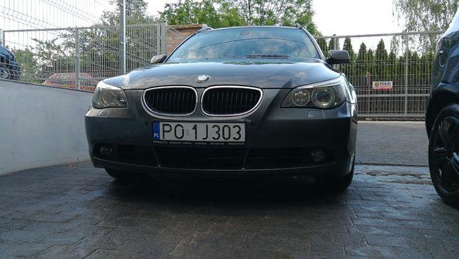 BMW 525D 2004r. E61, Salon RP, Bezwypadkowy, Po dużym serwisie, Okazja