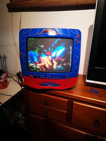 Televisão a cores Lexibook homem aranha