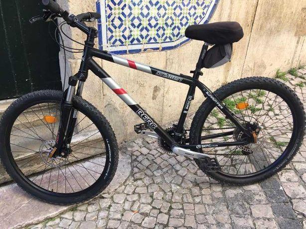 Bicicleta BERG travoes de disco tamanho M