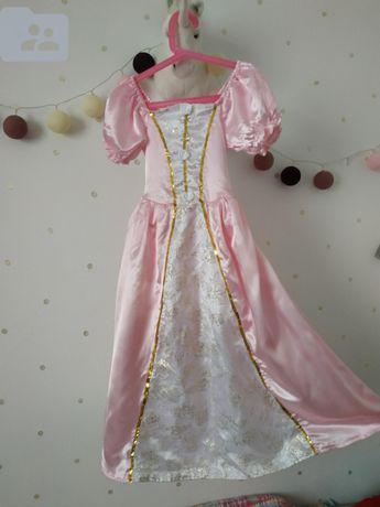 Платье нарядное для утренника принцессы костюм карнавальный 5-6 лет