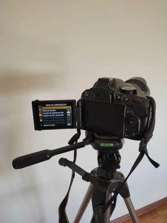Novo preço! Nikon 5200 com lente Tamron 18-270 VC