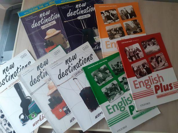 Англійська мова. Книжки, зошити. New destination. English +