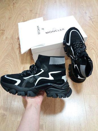 Moncler 42 43 44 45 мужские кроссовки монклер чоловічі кросівки