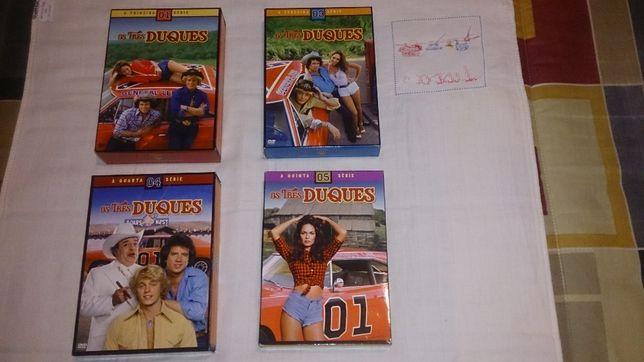 os três duques (séries 1, 3, 4, e 5 completas) preço por unidade