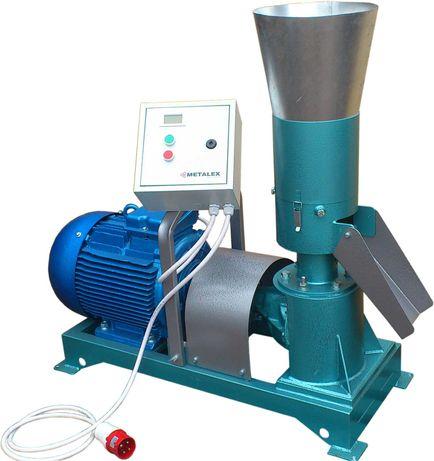 Гранулятор кормов с неподвижной матрицей 300-350 кг/час 11 кВт/час