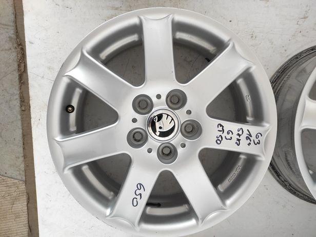 63 Felgi aluminiowe SKODA R 16 5x112