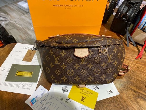 Поясная сумка Louis Vuitton Bumbag Monogram AAA