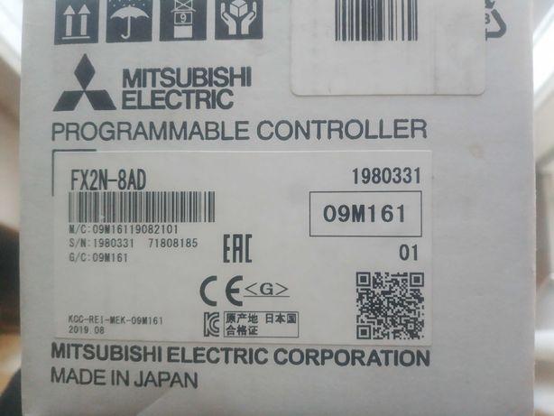 Mitsubishi FX2N-8AD PLC контроллер
