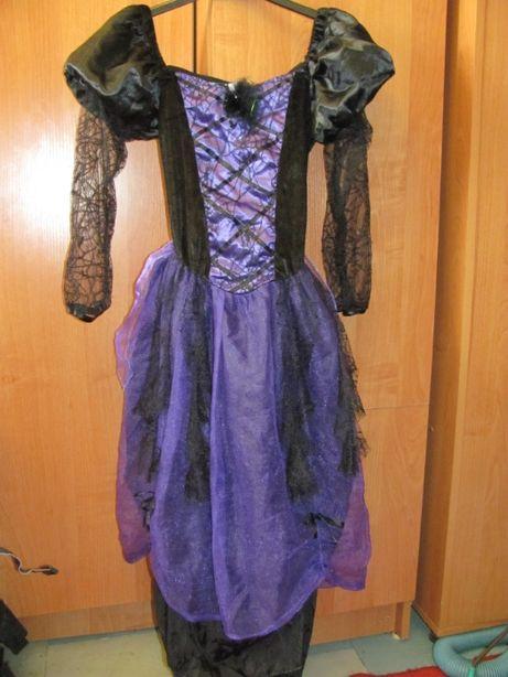 Платья карнавальное,Хэллоуин. Паутина готика.
