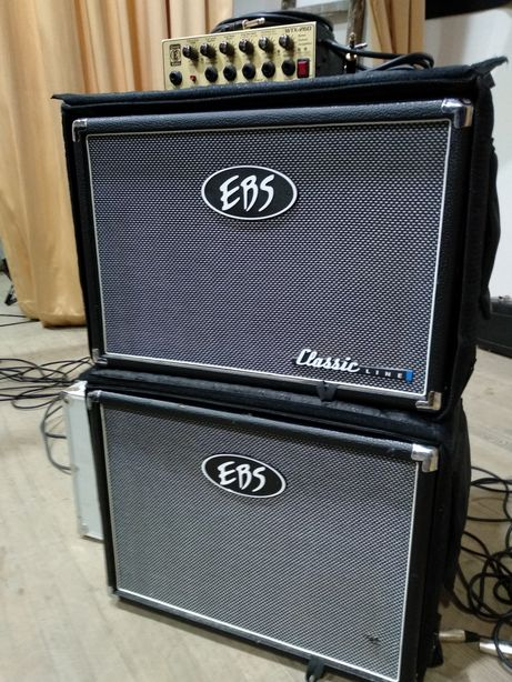 Комплект підсилення для бас-гітари EBS, EDEN