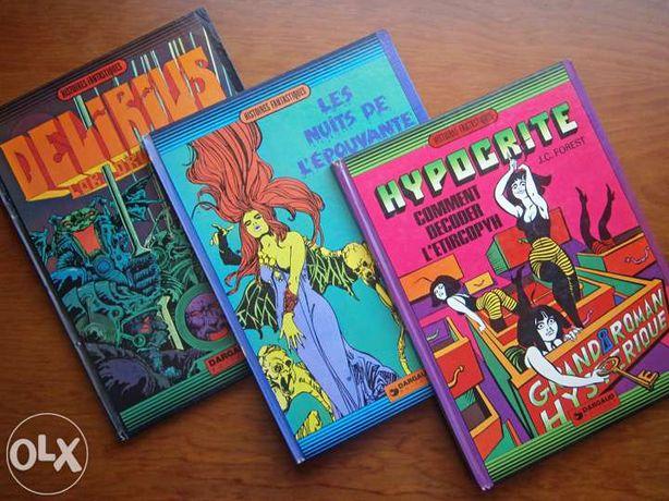 Histoires Fantastiques (3 livros, 1as edições)