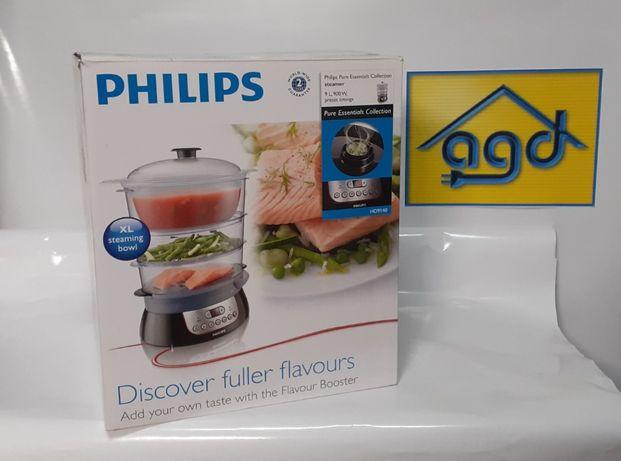 Parowar Philips HD9140/91 9L 3 pojemniki 900W + gwarancja
