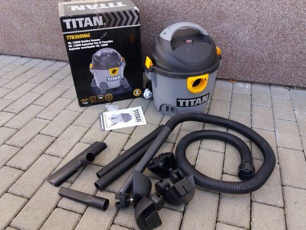Odkurzacz przemysłowy sucho/mokro TITAN 16L 1300W