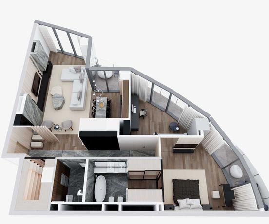 Дизайн проект квартиры дома магазина офиса других помещений