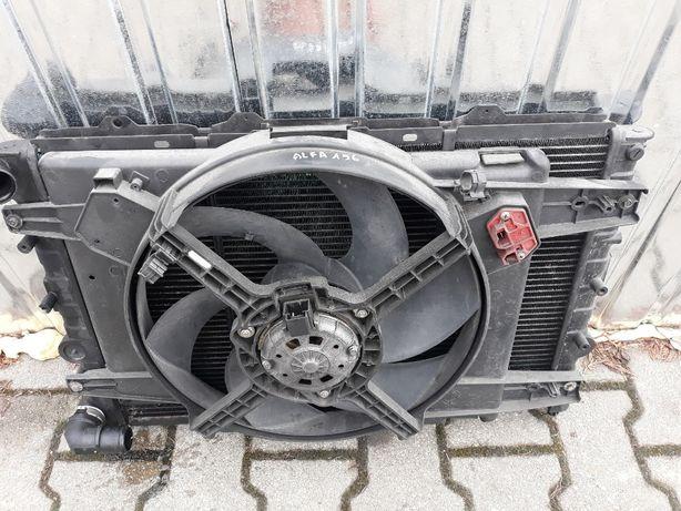 Komplet chłodnic klimy Alfa 156 2.0 jts Lublin !!