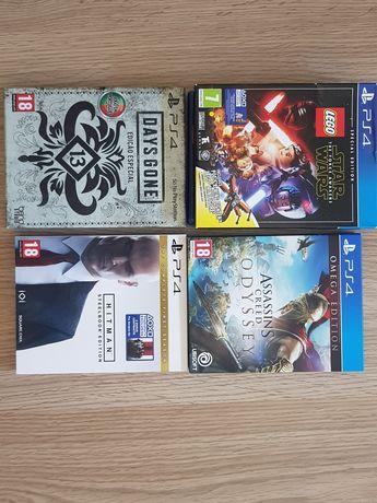 Varios jogos ps4