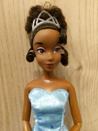 Lalka Disney, Tiana, księżniczka i żaba, Barbie, Princess