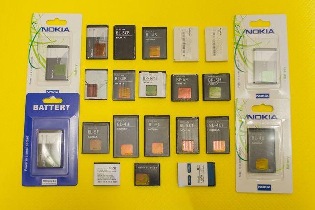 Аккумуляторы Nokia акб bl4c 5c 4b 5cb 5b bp5m 6m 4s 4u 5ct 5j bld3 5f