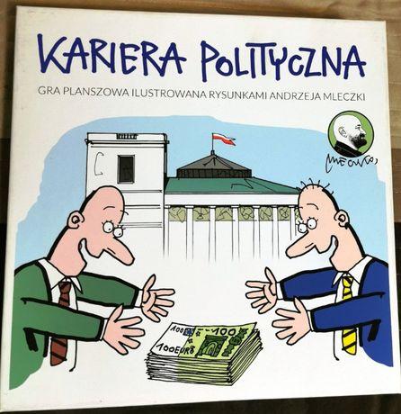 Gra planszowa - Kariera Polityczna (Andrzej Mleczko) - jak nowa