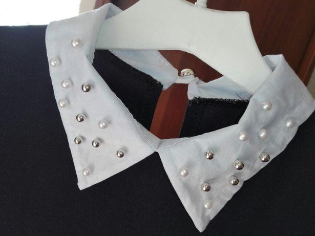 Sukienka uniwersalna trapez perelki