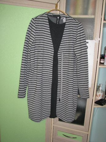 Женские комплект платье с длинным жакетом
