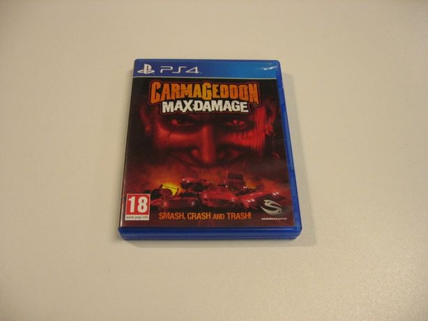 Carmageddon Max Damage - GRA Ps4 - Opole 1078