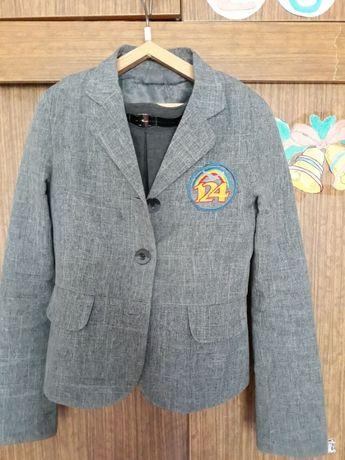 Пиджак, пиджак школьный, форма школьная