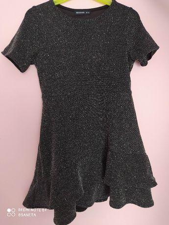 reserved - błyszcząca sukienka, rozmiar 116
