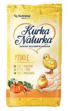 Pasza PISKLĘ Kurka Naturka 25kg