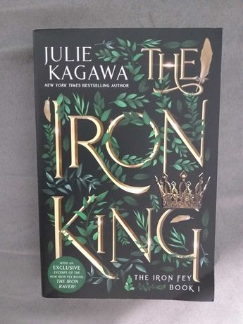 Julie Kagawa - The Iron King, The Iron Daughter, The Iron Queen