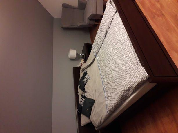 Łóżko 160 x 200 z Back Red Withe