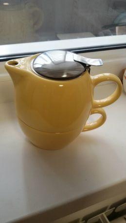 Комплект для індивідуального чаювання