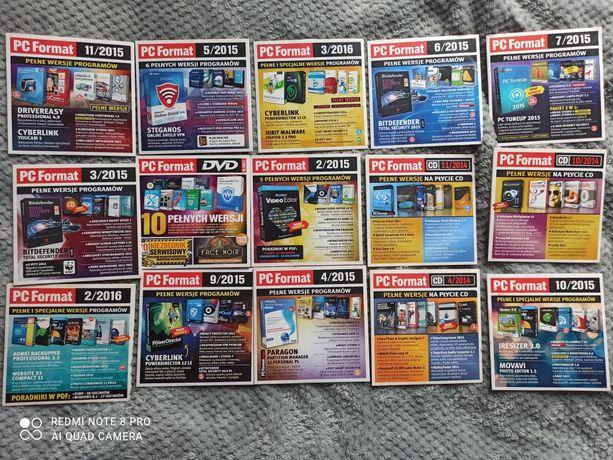 Plyty z gazet pc format
