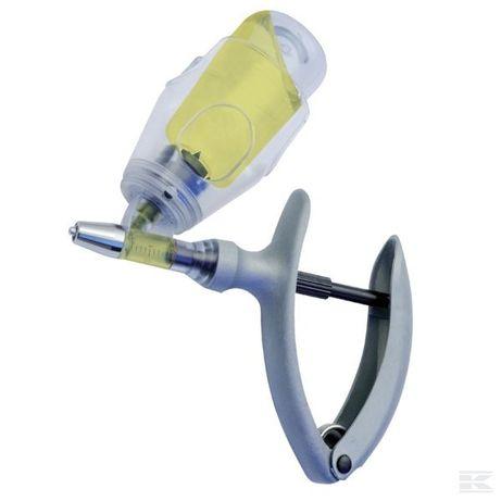 Strzykawka automatyczna, Eco-Matic z mocowaniem na butelkę, 5 ml
