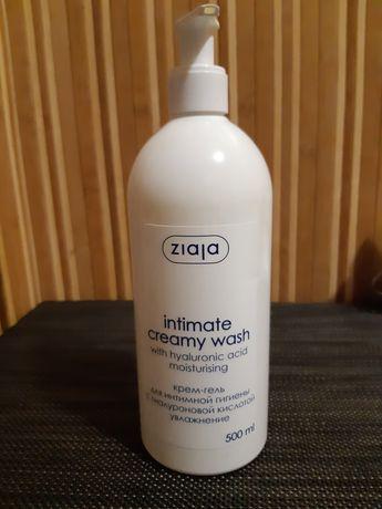 Крем-гель для інтимної гігієни Ziaja З гіалуроновою кислотою