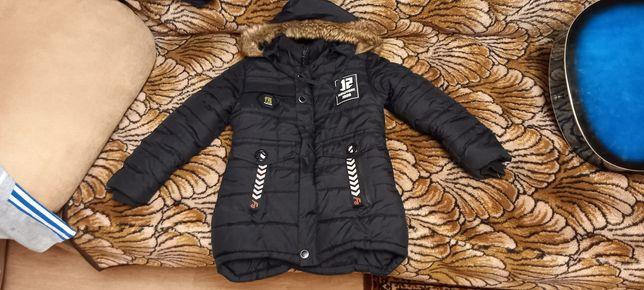 Куртка на мальчика еврозима 5, 7лет