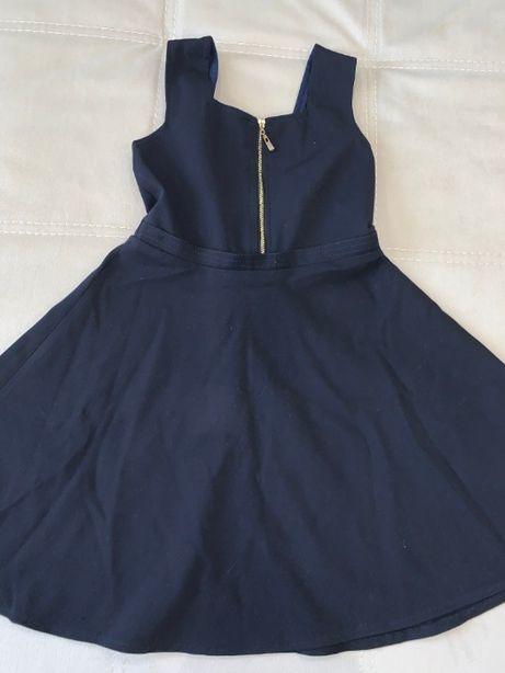 Школьный сарафан, синий сарафан, школьное платье, синее платье