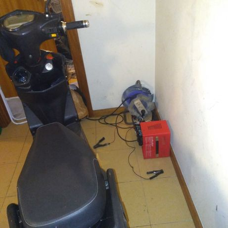 Scooter elétrica ler anúncio