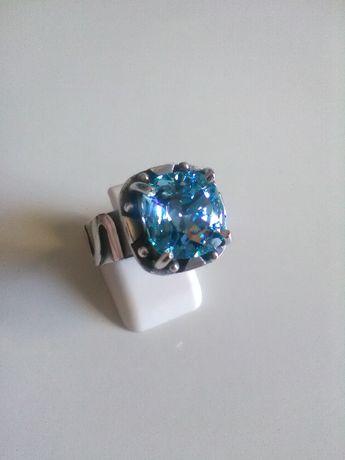 pierścionek srebrny925 cyrkonia