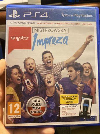 Singstar Mistrzowska Impreza PS4