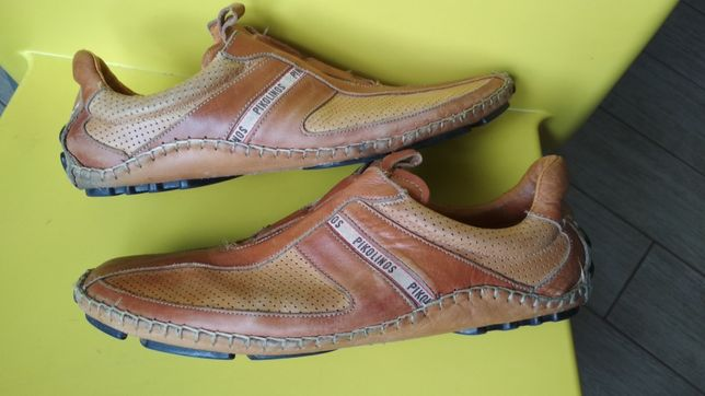 Туфли-мокасины Pikolinos Made in Spain натуральная кожа