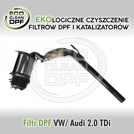 VW Golf, Audi A3 - Filtr cząstek stałych DPF, katalizator