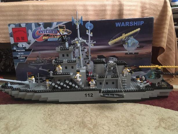Лего военный корабль 112