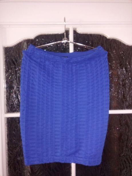 Niebieska spódniczka