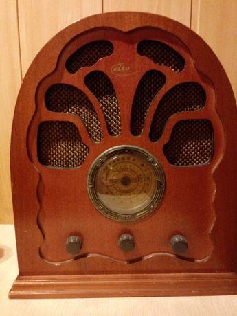 Drewniane radio Elta. Jak NOWE.