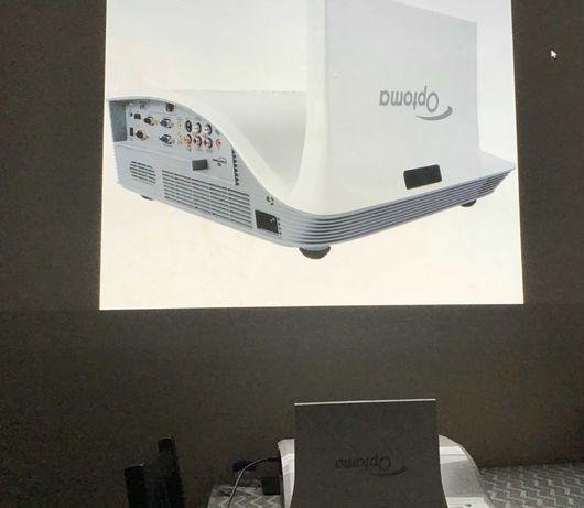 Projector video - projecção curta distância