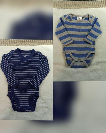 Бодики для новорожденных недоношенных малышей Carter's H&M 50