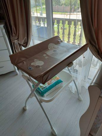 Пеленальний столик+ванночка Cam