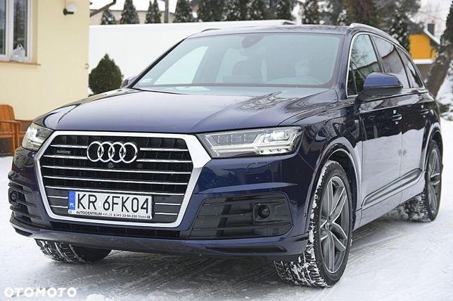 Audi Q7 S LINE/GWARANCJA 5 LAT/Salon Polska/7 Osobowa/Radar/Jak Nowa/FV 23%